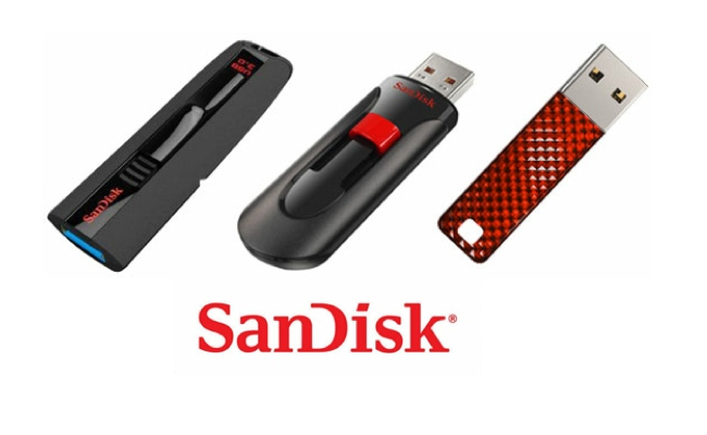 Sandisk USB flash drive 128GB