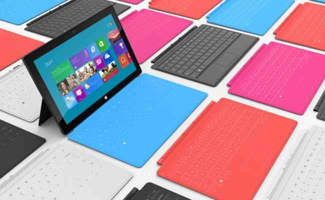 "Tableti Microsoft ""Surface"" (foto, video)"