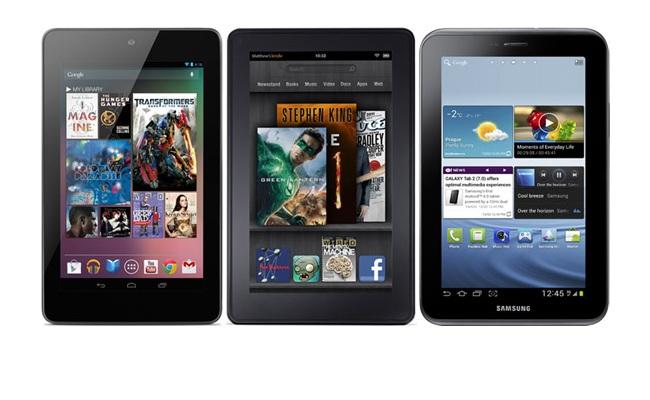 """Krahasim: """"Google Nexus 7"""" kundrejt konkurrencës"""