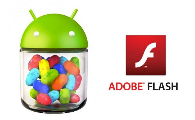 Adobe Flash në Nexus 7 dhe Jelly Bean