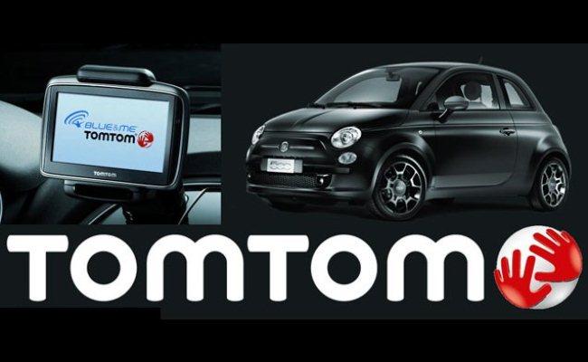 Fiat 500L me sistem të navigacionit Tomtom