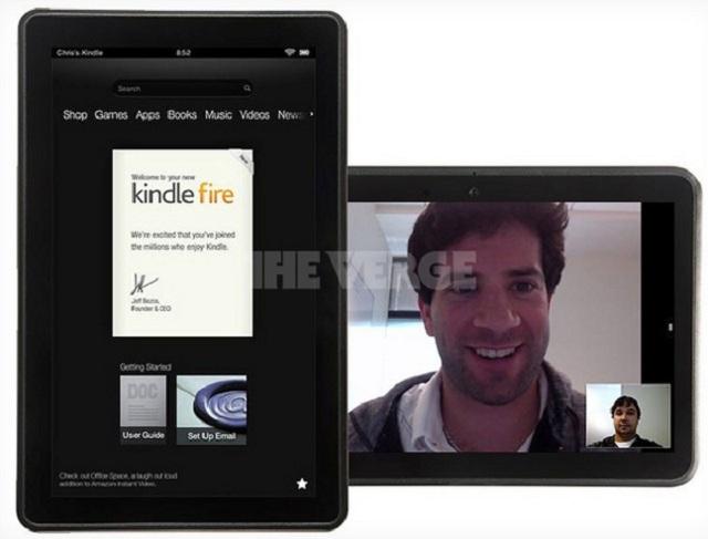 Fotot paralajmëruese të Amazon Kindle Fire 2