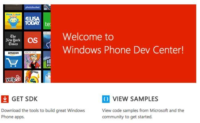 "Microsoft lanson web portalin e ri-dizajnuar ""Windows Phone Dev Center"""