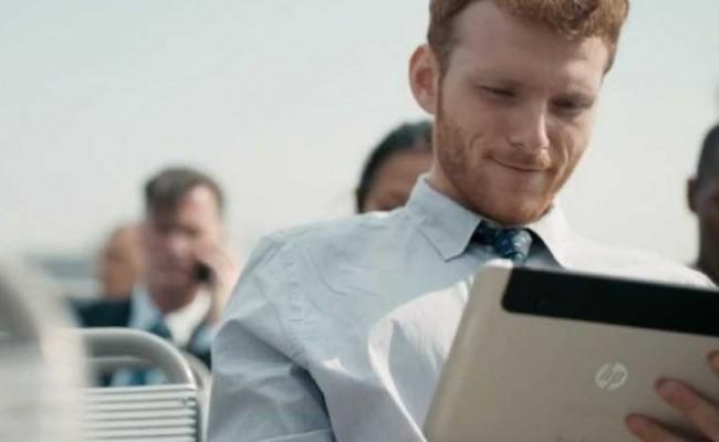 Tableta misterioze nga HP shfaqet në reklamë të kompanisë