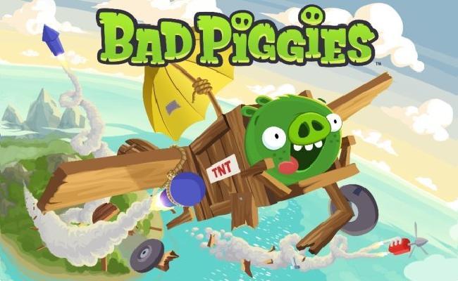 Loja Bad Piggies befason për të mirë