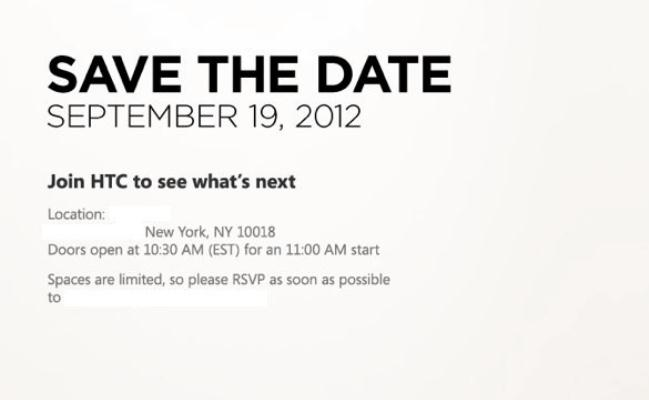HTC mban konferencë shtypi më 19 Shtator