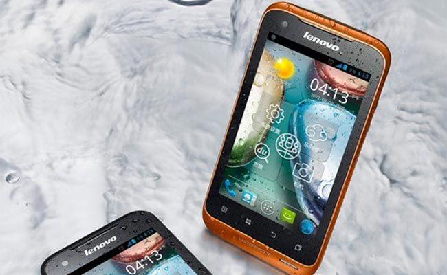 Smartphone i ri Lenovo A660, dualSIM dhe rezistent ndaj ujit