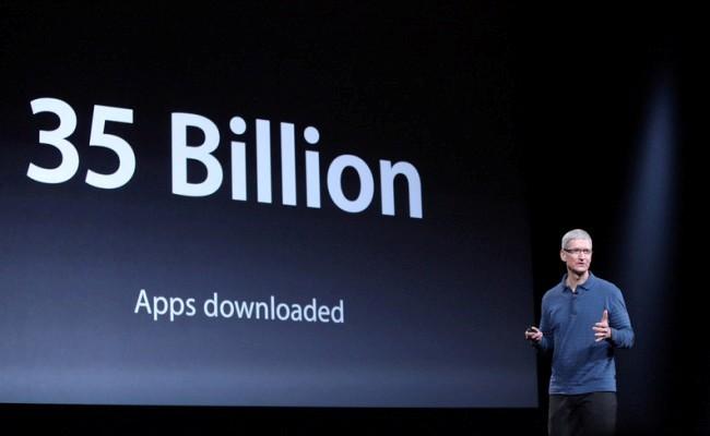 35 miliard aplikacione të shkarkuara për iOS
