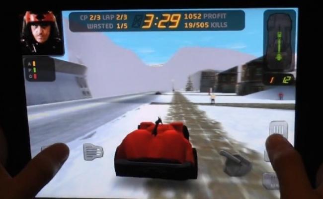 Loja Carmageddon edhe në iOS