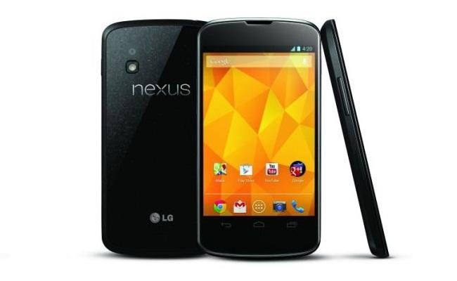 Google lanson smartphone-in LG Nexus 4