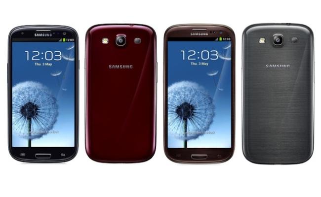 Samsung Galaxy S III me dy ngjyra të reja