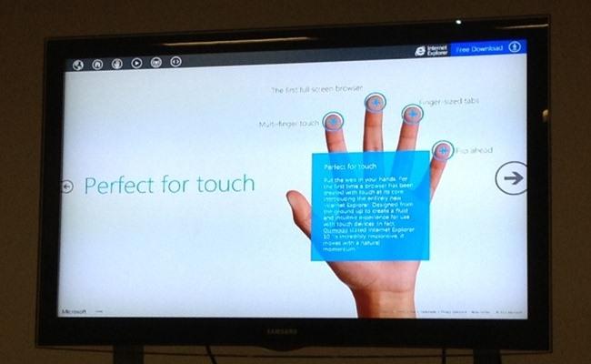 Nesër, Internet Explorer 10 preview për Windows 7