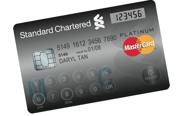 Mastercard me ekran LCD dhe tastierë