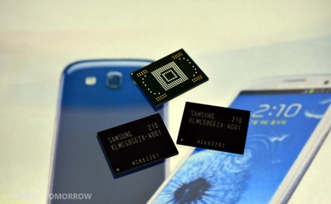 Samsung prodhon memorie 64GB për smartphone dhe tableta
