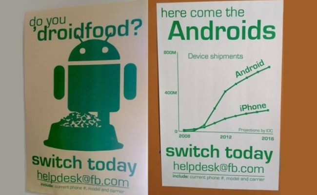Facebook u bën thirrje punëtoreve të kalojnë nga iOS në Android