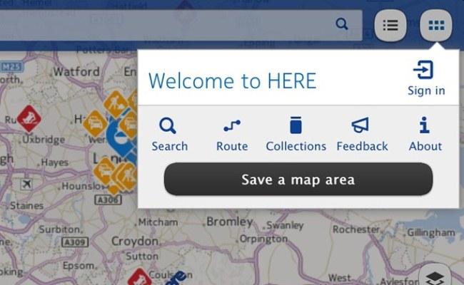 """Shkarko """"HERE Maps"""" për iOS"""