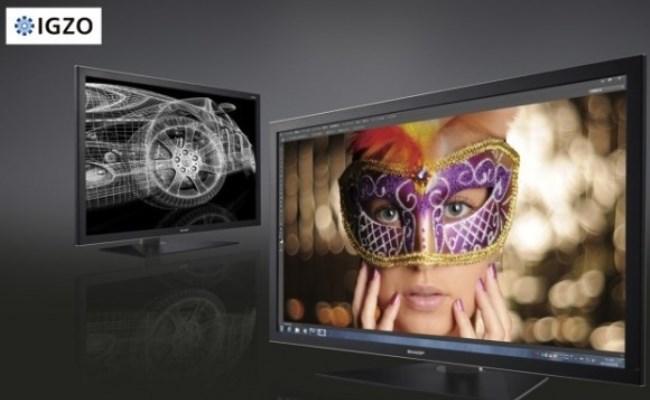 Sharp zbulon ekranin IGZO 32 inç 4K