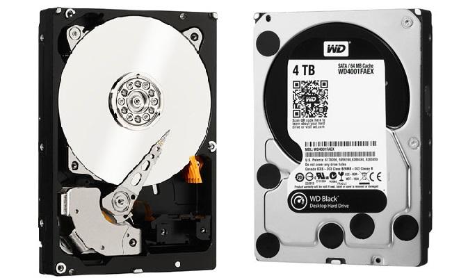 Western Digital Black HDD me 4TB