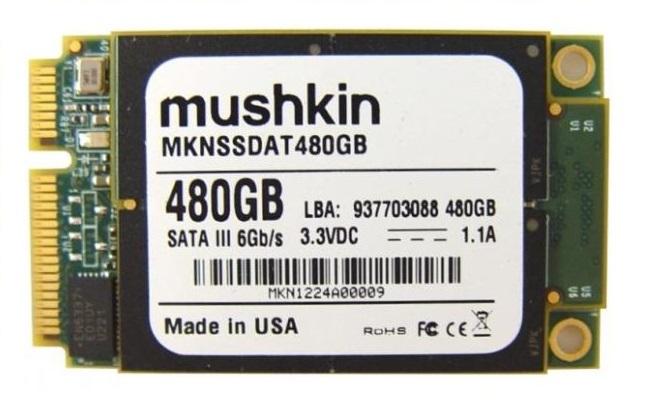 Mushkin shfaq diskun 480GB mSATA SSD