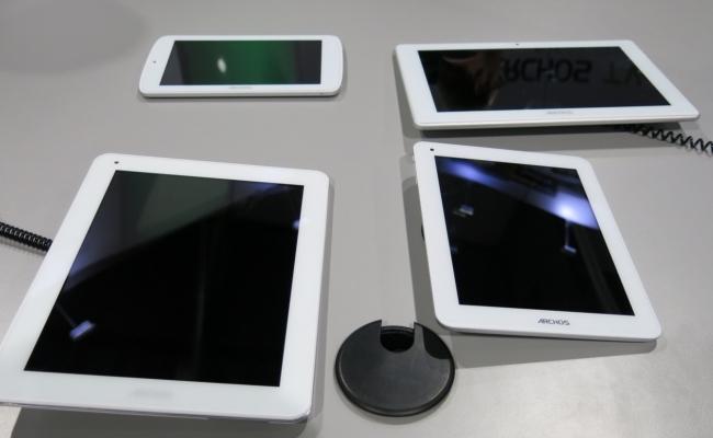 Archos njofton për katër tabletë me Android