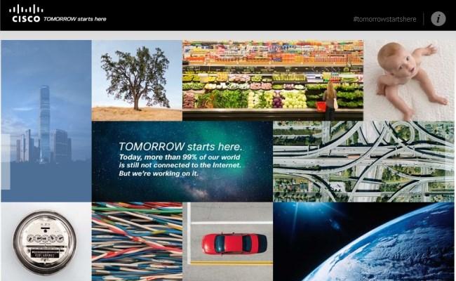 """Cisco paditet për përdorimin e motos """"Tomorrow Starts Here"""""""