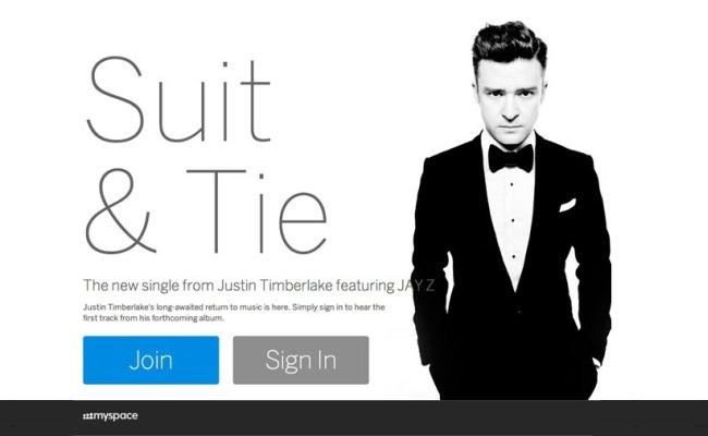 Myspace i ridizajnuar nis së bashku më Justin Timberlake