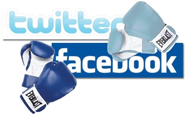 Vazhdon lufta Facebook – Twitter