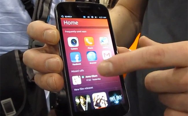 Smartphone-i me Ubuntu në CES 2013