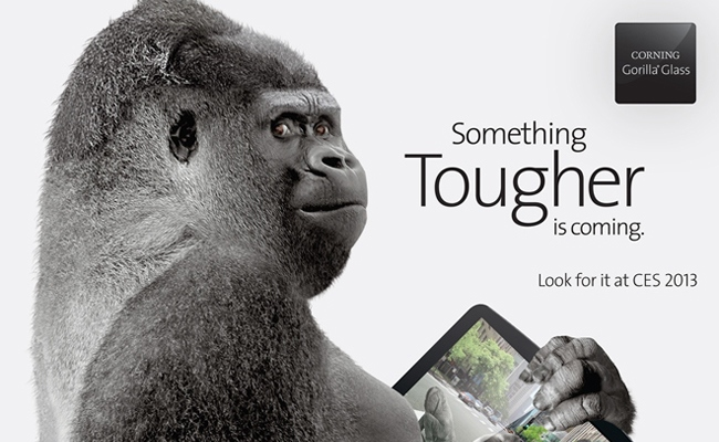 Demonstrimi i Gorilla Glass 3 në CES 2013