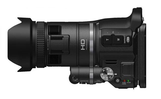 JVC shfaq foto-aparatin GC-PX100 Procision