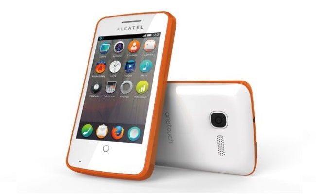 Shfaqet Alcatel One Touch Fire me Firefox OS
