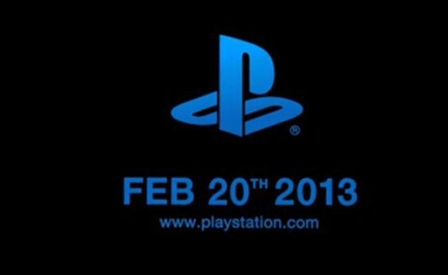 Sony PlayStation 4 lansohet me 20 Shkurt?