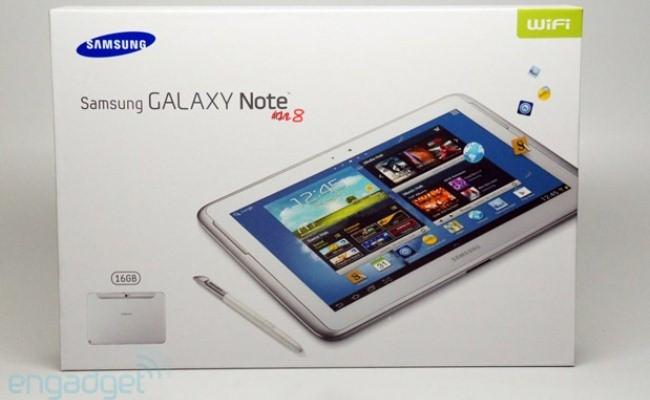 Samsung Galaxy  Note 8.0 lansohet në Mars