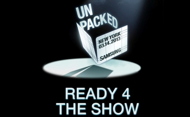 Samsung ftesë mediave për Galaxy S4 më datën 14 Mars