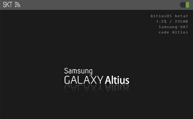 Shfaqen fotografi të Samsung Galaxy Smartwatch ose Altius