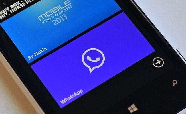 WhatsApp nxjerr një përditësim të ri për Windows Phone