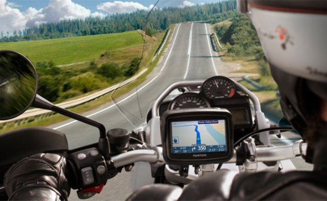 TomTom Rider GPS për Motoçiklistët