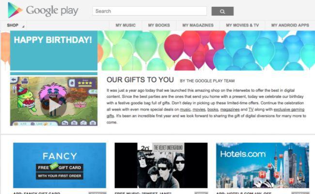 Google Play mbush 1 vit