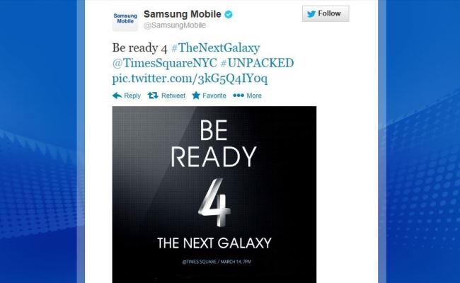 """Samsung me datën 14 Mars, drejtpërdrejt nga """"Times Square"""""""