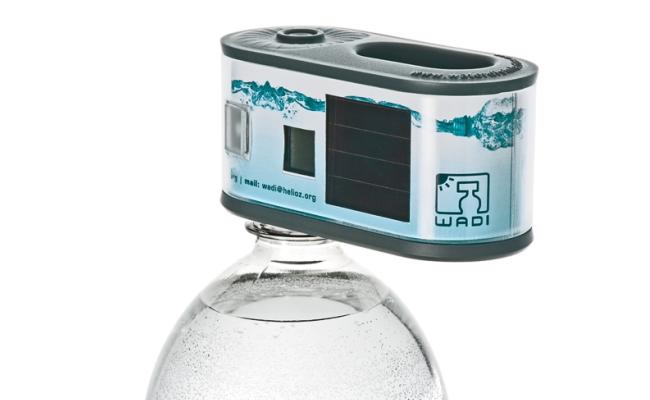 Teknologjia Wadi filtron ujin me energji diellore