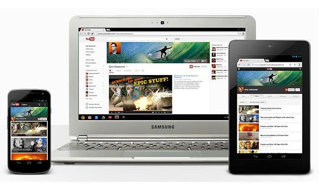 Kanalet në YouTube me dizajn të ri