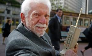 Martin Cooper Motorola dynatac