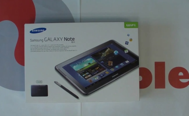 Video Shpaketim: Samsung Galaxy Note 10.1