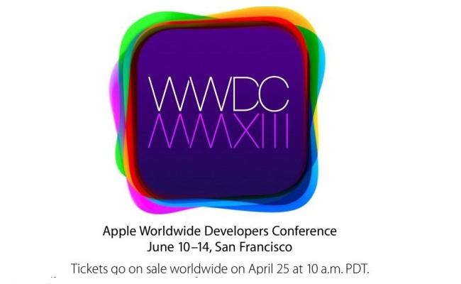 WWDC 2013 nis me 10 Qershor, biletat në shitje prej nesër