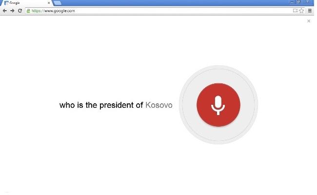 Google Chrome tani mund të flas me ju!