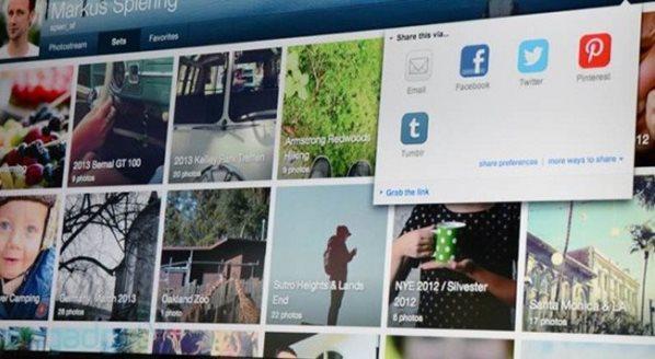 Flickr nderfaqja