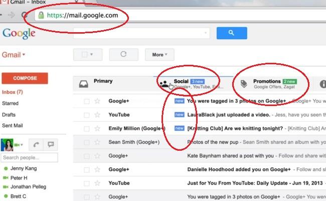 Inbox-i në Gmail shumë shpejt me një pamje të re