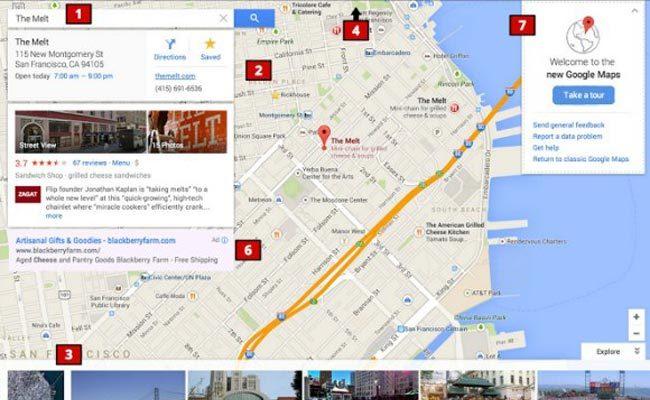 Google Maps, shumë shpejt me dizajn të ri