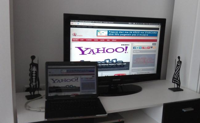 Lidhja Laptop TV