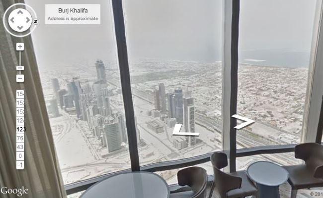 Eksploroni ndërtesën më të lartë në botë me Google Street View